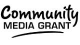 Community Media Grant logo