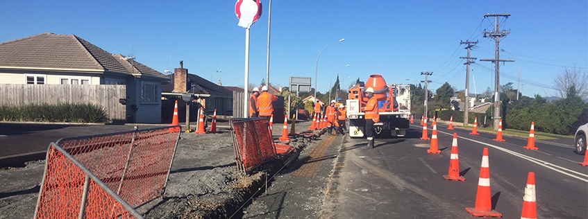Forest Lake Rd footpath roadworks | Hamilton City Council