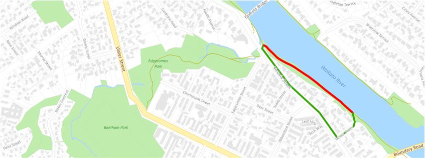 Hamilton Pde closure | Detour via Dillicar St and Victoria St