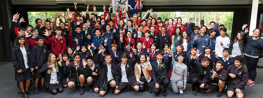 International students formally welcomed by Mayor King