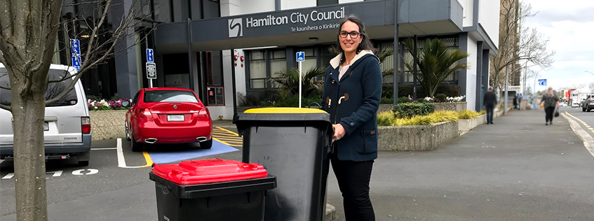 Our new Rubbish collection services showcased by Waste Minimisation Advisor Charlotte Catmur