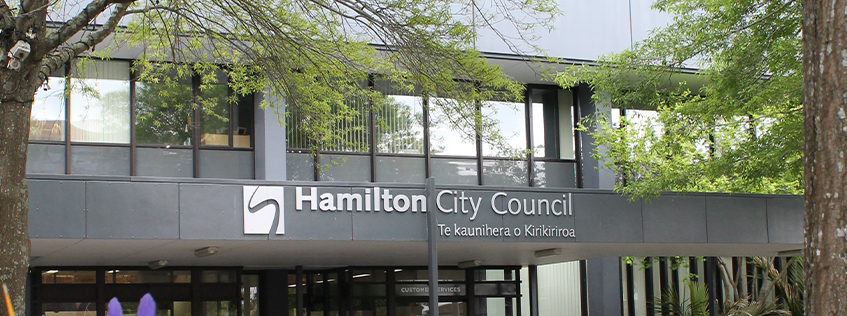 Hamilton City Council Municipal Building Civic Square