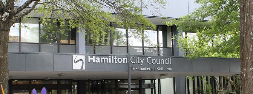 Hamilton City Council Municipal Building Civic Square