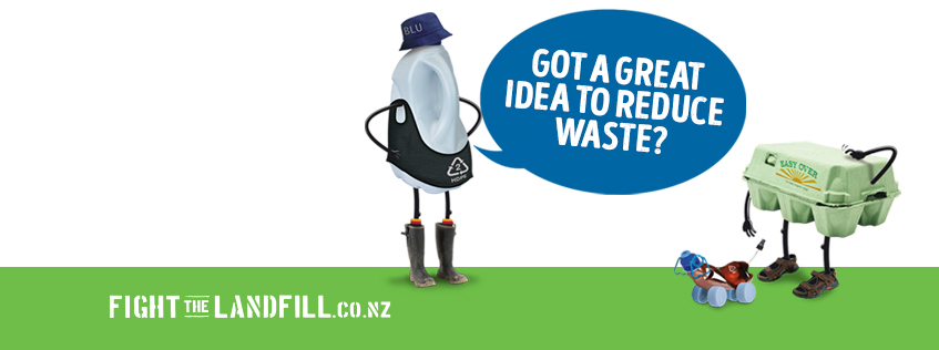 Got a great idea to reduce waste? | Fight the Landfill
