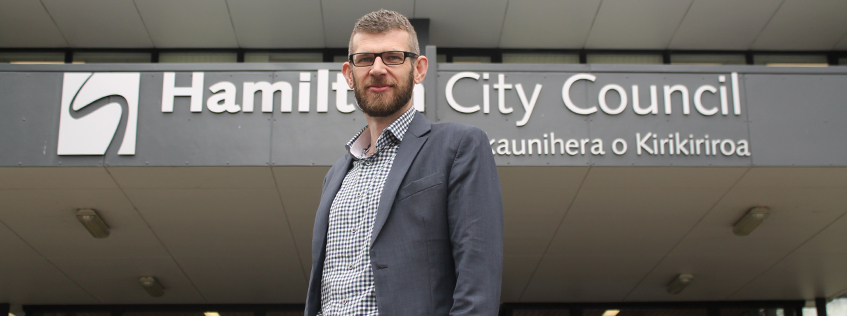 Hamilton's taking off and Hamiltonians can be rightfully proud of their city's place on the national stage says Hamilton City Council Chief Executive Richard Briggs.