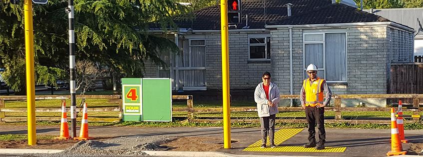 Silverdale Rd pedestrian crossing