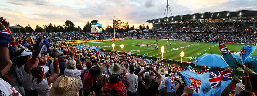 FMG Stadium Hosting the Rugby Sevens