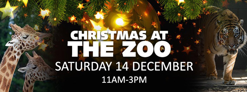 Christmas at the Zoo | Saturday 14 December 11am to 3pm