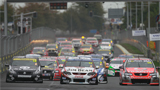 Photo of the Hamilton V8 race