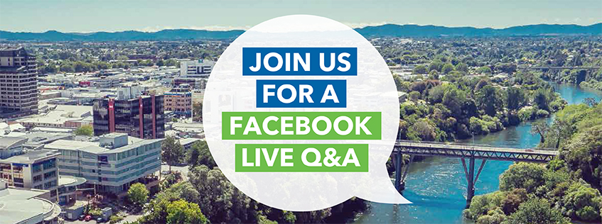 Join us for a Facebook live Q&A