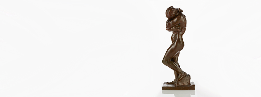 Auguste Rodin, Eve, bronze, 1882, Collection of Museum of New Zealand Te Papa Tongarewa