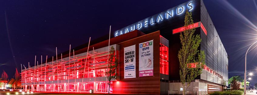 claudelands event centre red lights
