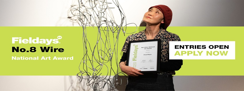 Asaki Kajima with her 2020 winning work Space Cow