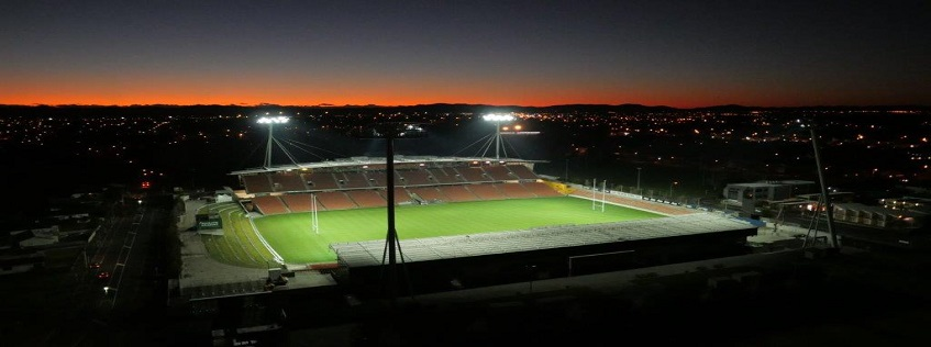 Aerial Image of Waikato Stadium
