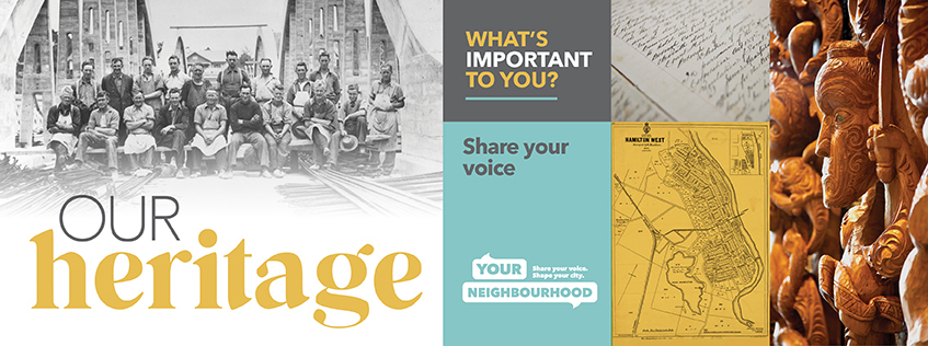 Our Heritage - what's important to you? Share your voice