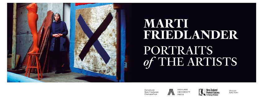 Marti Friedlander, Portraits of the Artists
