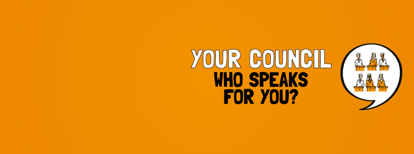 Your council. Who speaks for you?