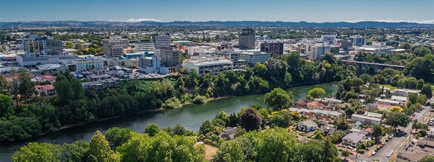 Aerial image of Hamilton