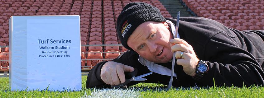 Hamilton's turf technican heads to Apia for All Blacks preparation