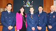 Bravery awards for river rescue