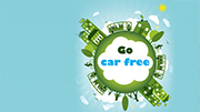 World Car-Free Day encourages carbon footprint reduction