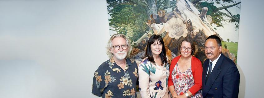 Trust Waikato gifts art collection to Waikato Museum