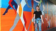 New mural for Claudelands underpass