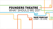 Public comment sought on future of Founders Theatre
