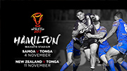Hamilton confirmed as Rugby League World Cup 2017 host city