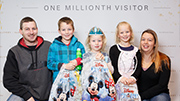 Claudelands celebrates millionth visitor during Disney on Ice
