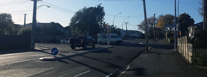 Queens Ave Killarney Rd intersection